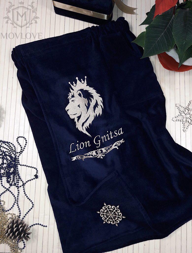 банная юбка с вышивкой