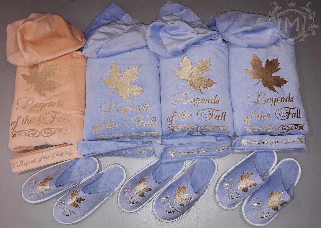 набор именных халатов для сестер